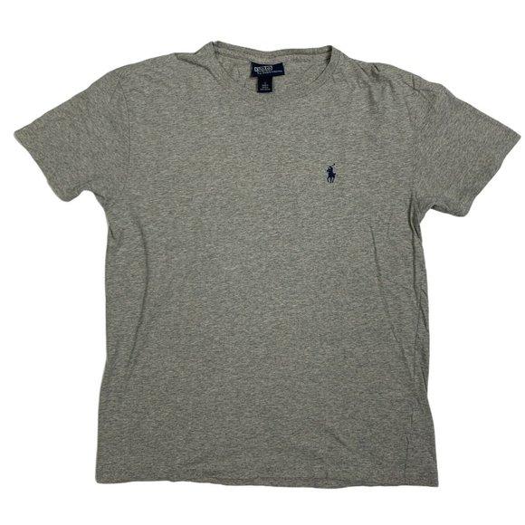 Polo Ralph Lauren T-Shirt Gray Short Sleeve Solid